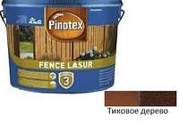 Пропитка для защиты дерева Pinotex Fence Lasur тик 10л
