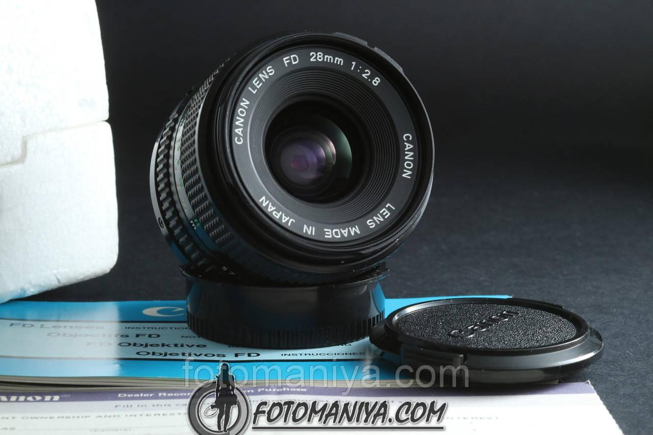 Canon nFD 28mm f2.8