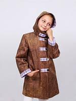 """Пальто утепленное для девочки м-905 от рост 122 тм """"Попелюшка"""", фото 1"""