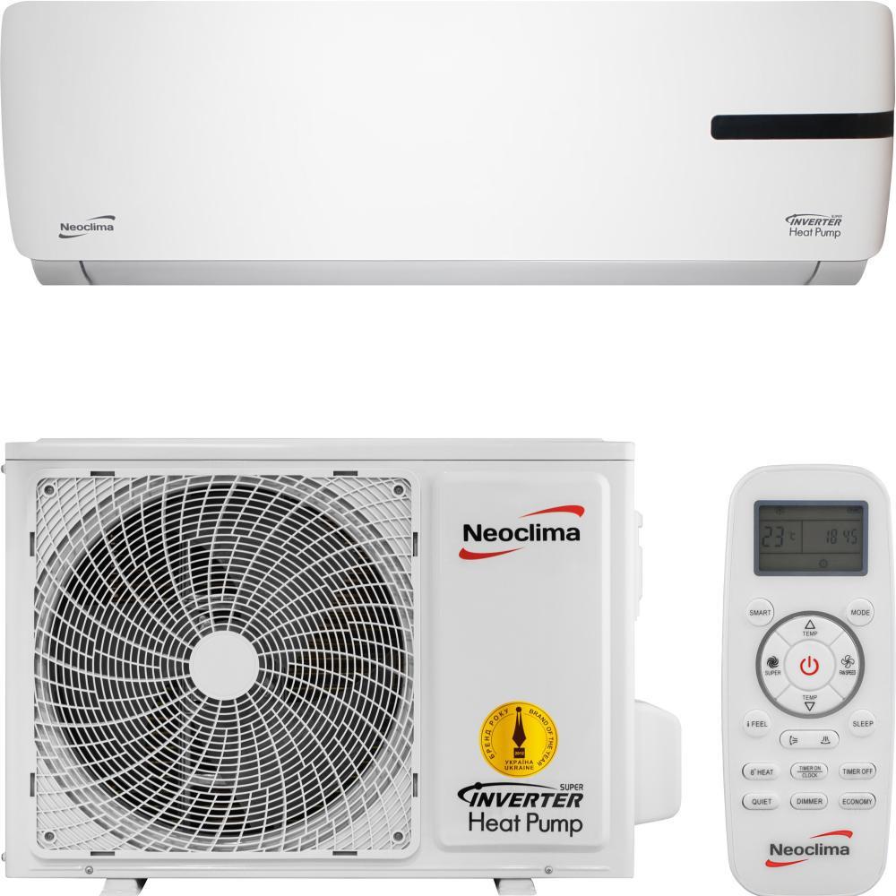 Інверторний кондиціонер NEOCLIMA NS/NU-24AHTIw ALASKA 2.0 (тепло до -30)