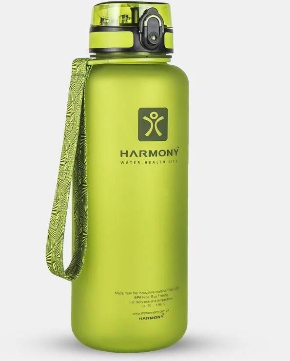 Бутылка для воды Harmony 1.5 л, зеленая