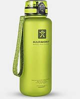 Бутылка для воды Harmony 1.5 л, зеленая, фото 1