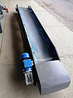 Ленточный горизонтальный транспортер с вигрузною горловиной, шириной 40см для сыпучих материалов от 4BUILD