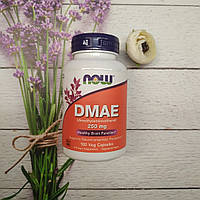 Now Foods DMAE 250 mg 100 veg caps , дмаэ , добавка для долголетия и мозговой активности