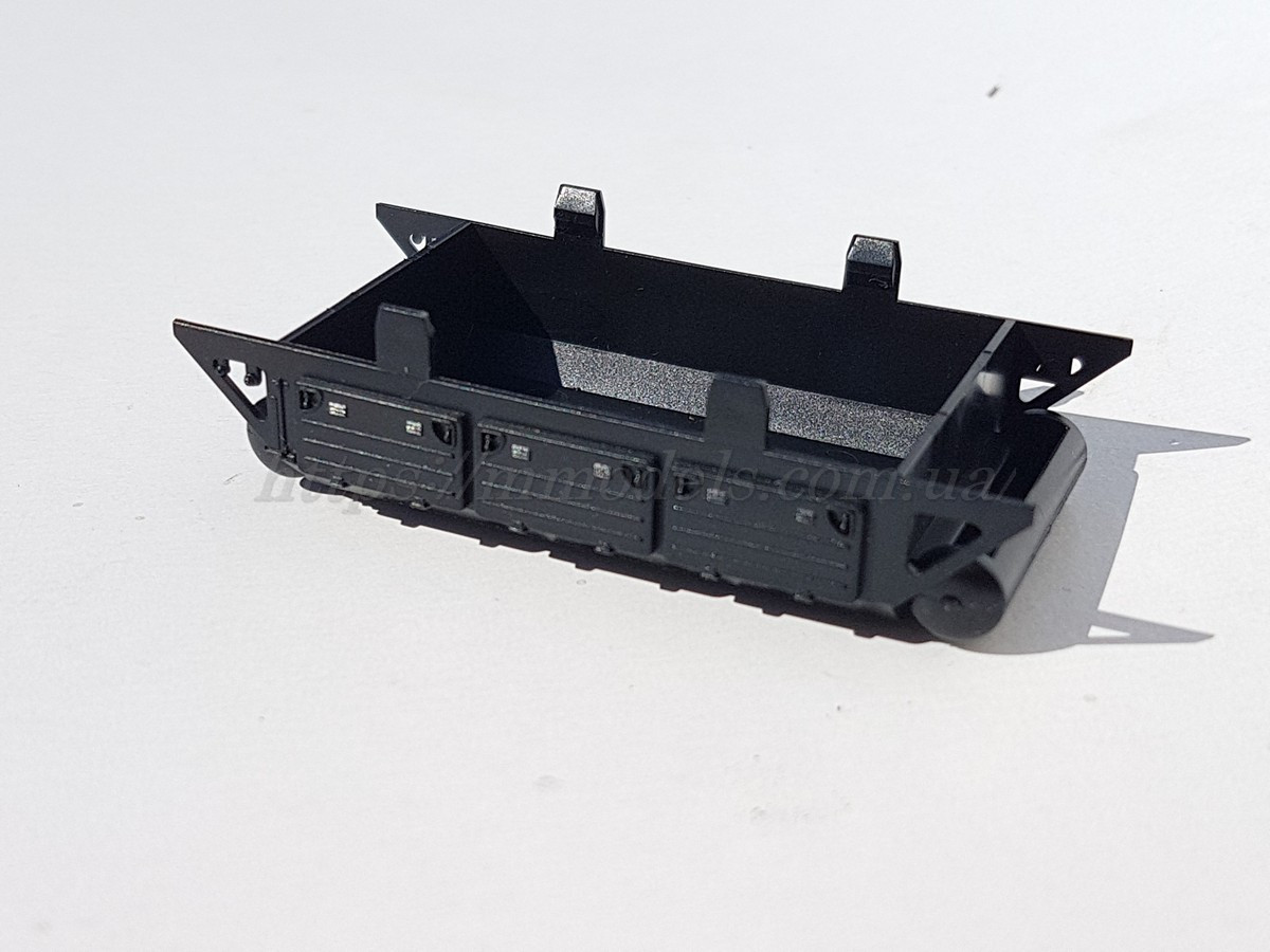 Roco 140876 запасная часть для моделей - имитатор топливного бака тепловоза серии 132,232 ,масштаба 1/87,H0