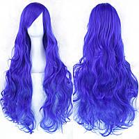 Длинные парики - 80см, синие волнистые волосы, Мальвина, косплей, анимэ