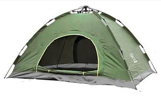 Палатка автоматическая 6-ти местная | Палатка кемпинговая Smart Camp Зеленый