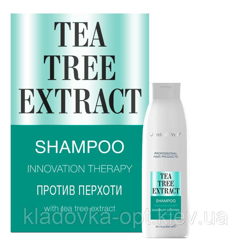Шампунь против перхоти JERDEN PROFF TEA TREE EXTRACT, 300 ml