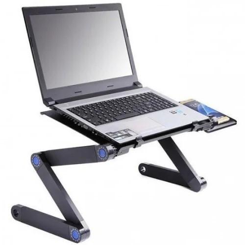 Складной столик для ноутбука Laptop Table T8, столик переносной, портативный столик