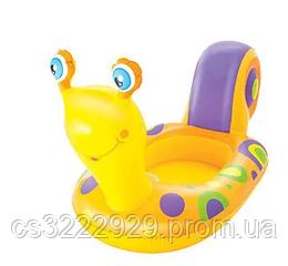 Детский Плотик Улитка 163*66 см Bestway 34102B  (Желтая)