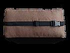 Подушка Полувалик  коричневая Coverbag, фото 2