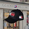 Мужская стильная Бейсболка кепка  Tommy Hilfiger (томми хилфигер) черная - Фото
