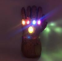 Светящаяся перчатка Таноса! Мстители: Война Бесконечности. Перчатка бесконечности 34.5см