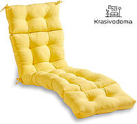 Матрас для шезлонга POOL Желтый