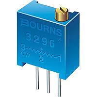 Резистор переменный потенциометр 3296W 50кОм, фото 1