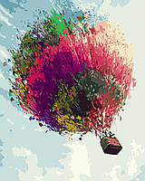 Картина по Номерам Воздушный шар 40х50см RainbowArt