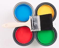 банки с разноцветной эмалью