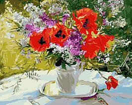Картина по Номерам Цветочное великолепие 40х50см RainbowArt