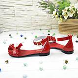 Босоножки кожаные женские Vasha Para 4302 39 цвет красный, фото 3