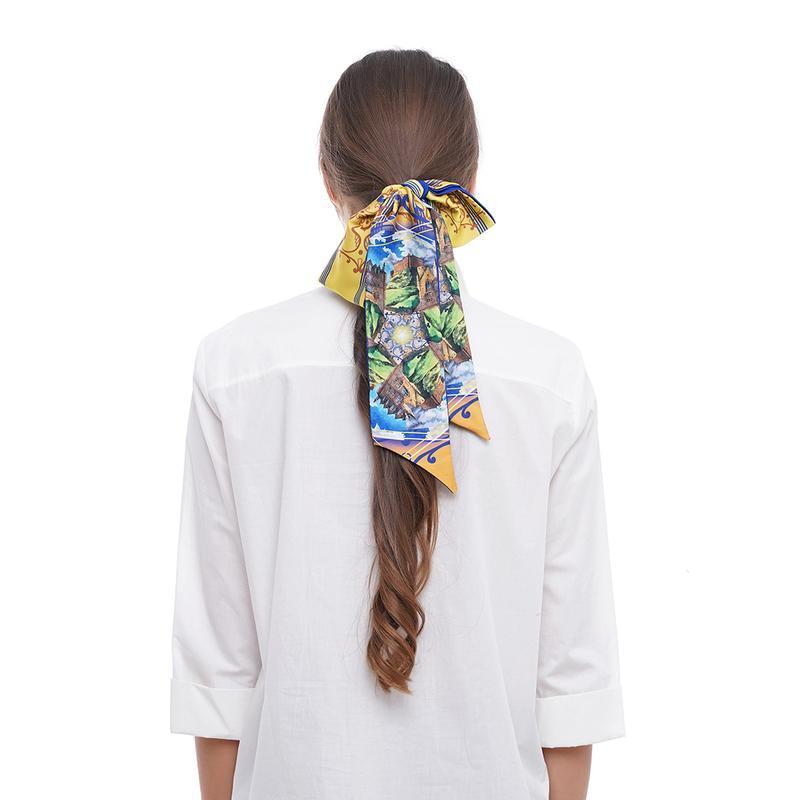 Твилли, шарфик-галстук, шарф, шарф-лента My Scarf