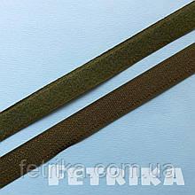 Липучка текстильная пришивная. Ширина 20 мм. ХАКИ.