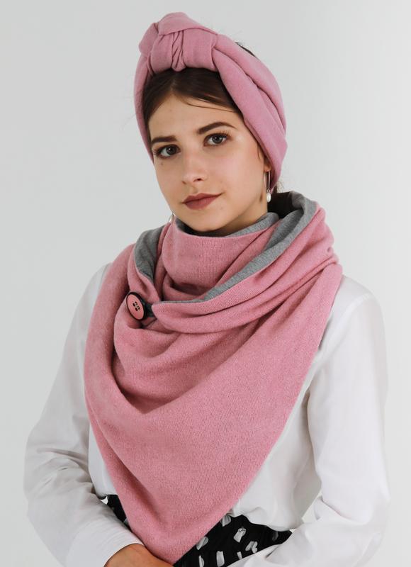Комплект шарф + тюрбан