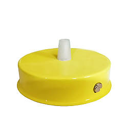 Комплект для монтажа люстры, монтажная основа для крепления подвесных светильников цвет желтый