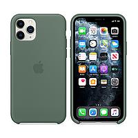 Чехол Silicone Case (силиконовый) для iPhone 11 Pro Pine Green силикон кейс айфон 11 про зеленый