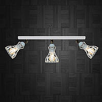 Настенный светильник, бра поворотное, потолочная лампа  RINGS/LS-3 белый