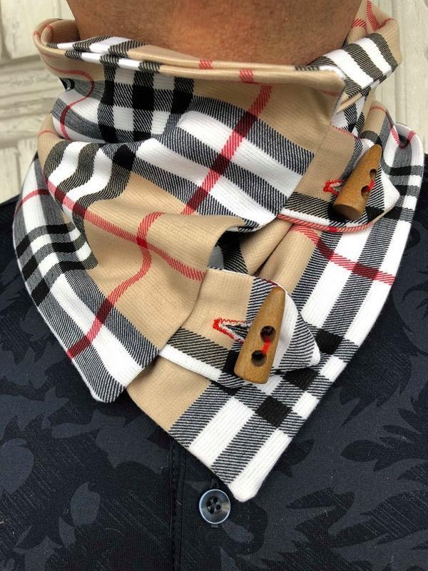 """""""Лондон"""" шарф мини-снуд, мужской шарф, теплый мужской шарф, подарок мужчине"""