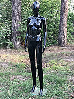 Жіночий манекен Аватар Люкс чорний в повний зріст