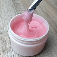 Камуфлирующий полигель для наращивания ногтей нежно розовый Venice 30г