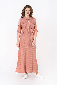 Летнее платье RM1955-18DD (розовый цвет)