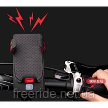 Велофонарь Powerbank велодержатель смартфона велозвонок (4 в 1), фото 2