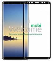Стекло Samsung N950 Galaxy Note 8 (0.3 мм, 5D, с олеофобным покрытием) black