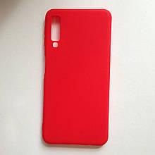 Чехол Samsung A7 2018 / A750 SMTT Red
