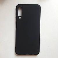 Чехол Samsung A7 2018 / A750 SMTT Black