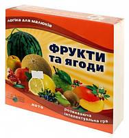 """Лото """"Фрукты и ягоды"""" 83033"""