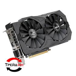 Видеокарта AMD Radeon Asus RX 570 4Gb Strix, б/у