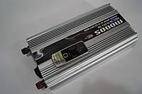 Инвертор напряжения 5000w, преобразователь 12/220 5000w