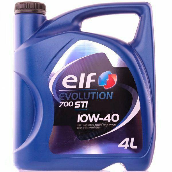 Моторне масло Elf Evolution 700 STI 10W-40 4л