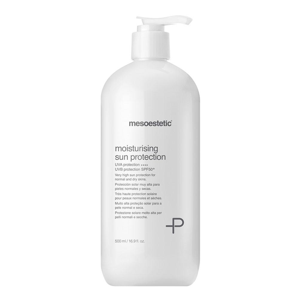 Увлажняющий солнцезащитный крем для сухой и нормальной кожи SPF 50+, 500мл