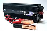 Инвертор напряжения 2000w, преобразователь 12/220 2000w