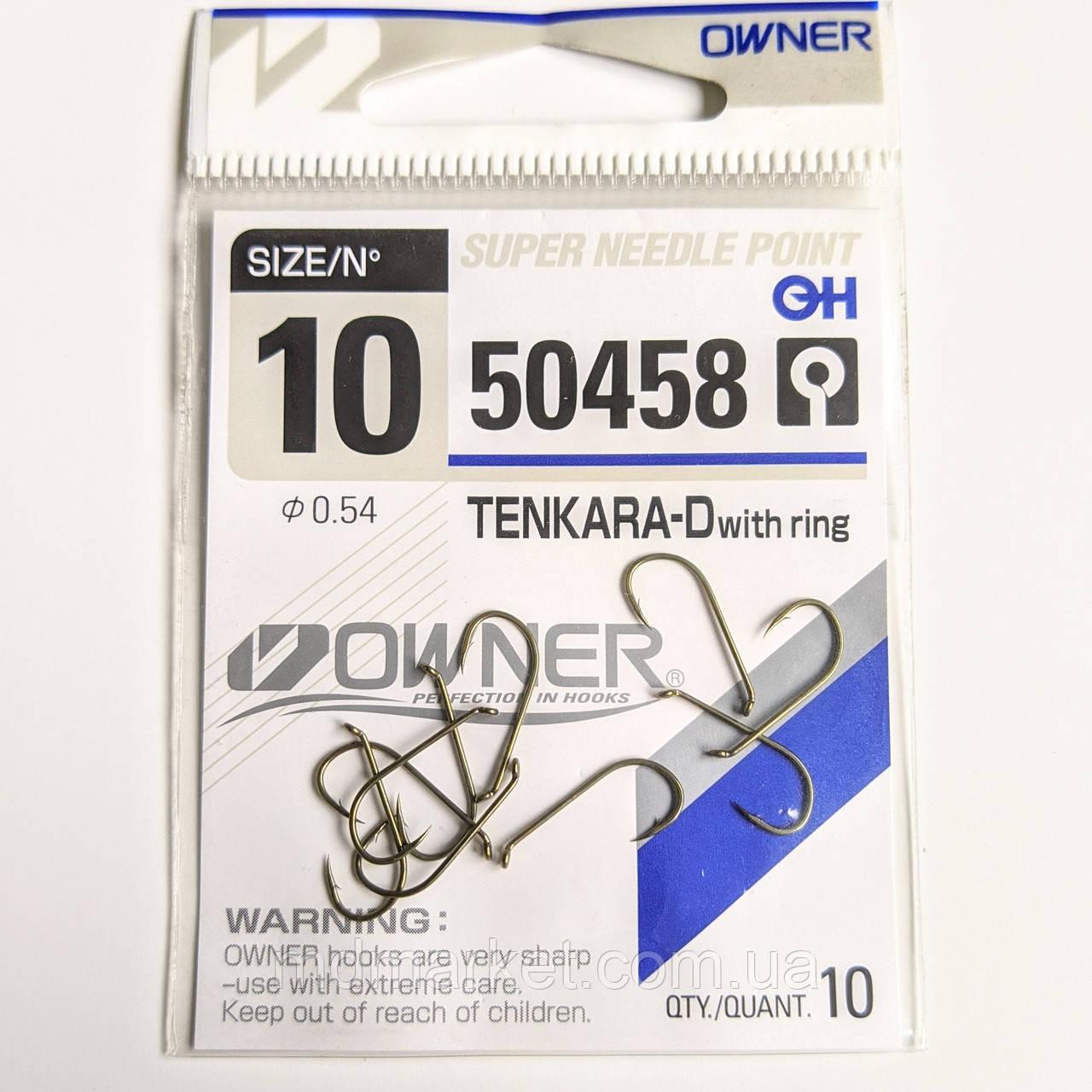 Крючки Owner Tenkara-D 50458 №10