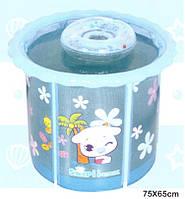 Надувной бассейн для малышей каркасный D75х65 см
