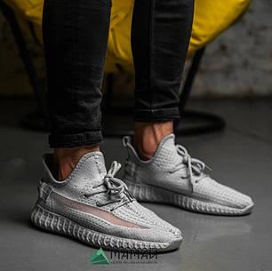 Чоловічі кросівки сітка сірі 42,43р, фото 2
