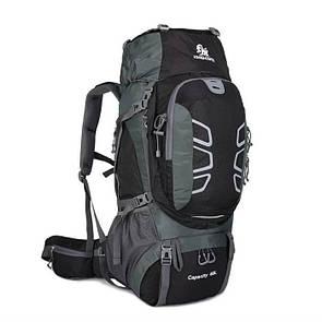 Туристичний рюкзак для трекинга 60 литра. Черный.