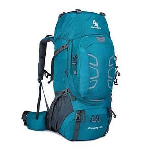 Туристичний рюкзак для трекинга 60 литра. Биризовий.