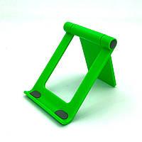 Настольный держатель, подставка для телефонов L-302 Green