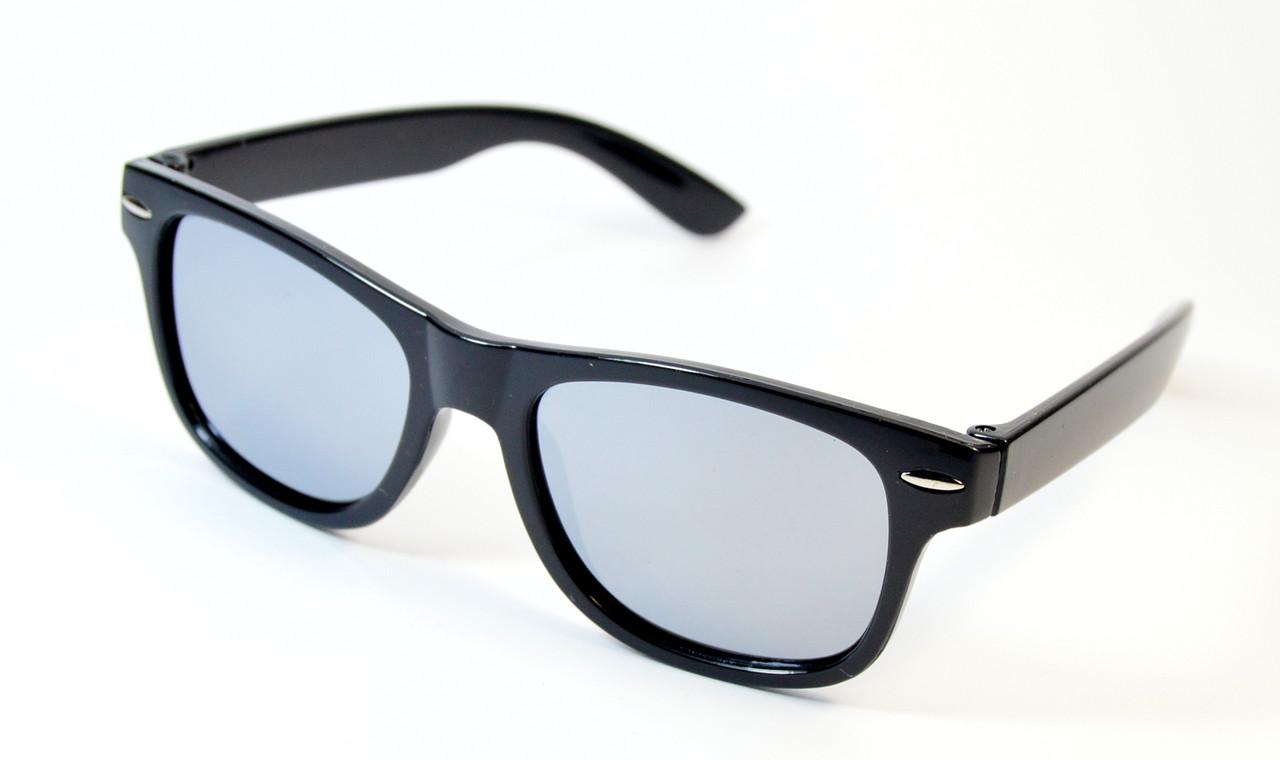 Детские зеркальные очки Wayfarer Polaroid (Р974 ч)